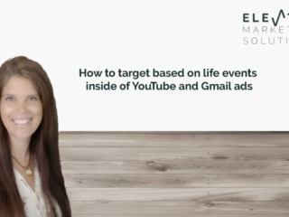 How to target based on life events in YouTube and Gmail Ads